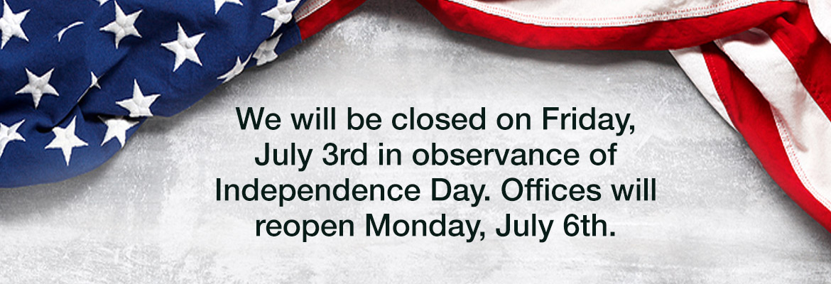 The Star offices will be closed on Friday July 3 and will reopen Monday July 6