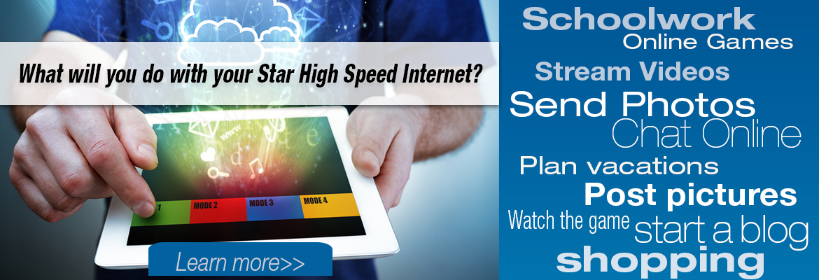 High Speed Internet from Star Communications