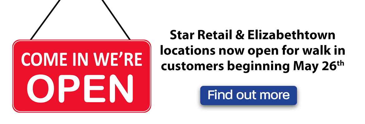 Star is open again for walk in customers at limited capacities