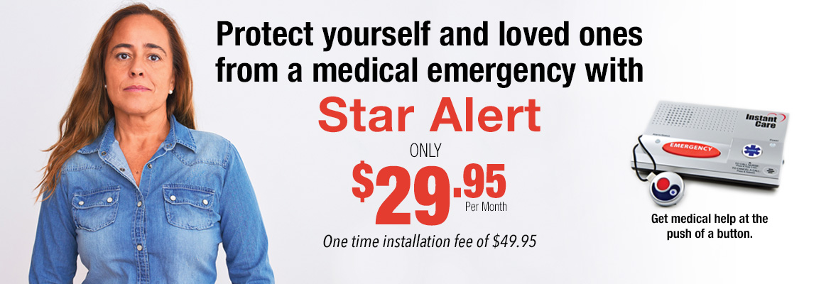 Help elderly or family members with health issues with Star Alert