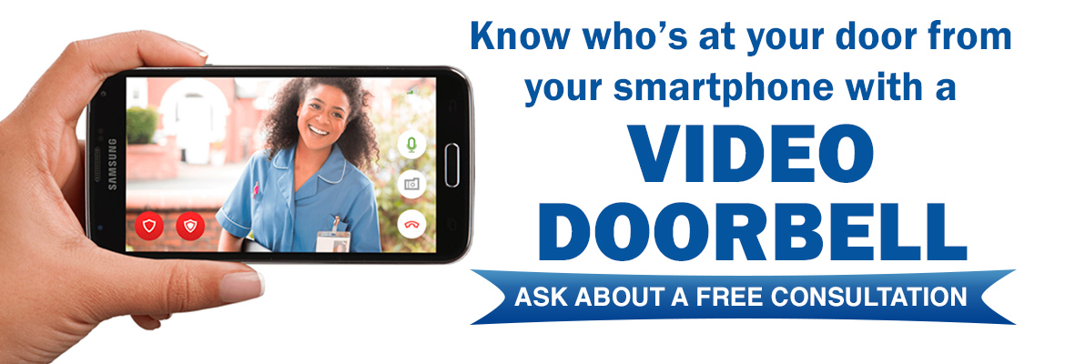 See and hear who's at your door with a video doorbell from Star Security