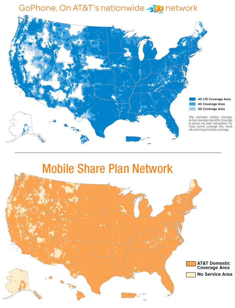 Star Communications - At andt service map